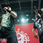 B-Real (L) and Sen Dog of Cypress Hill perform July 22, 2012 at The Greek Theater in Berkeley, California