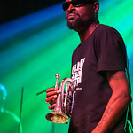 """Dirty Walt"" Kibby of Fishbone performs June 23, 2012 at the Santa Cruz Civic Auditorium in Santa Cruz, California"