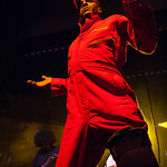 Angelo Moore of Fishbone performs June 23, 2012 at the Santa Cruz Civic Auditorium in Santa Cruz, California
