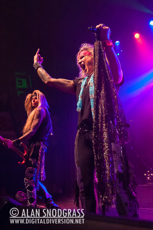 Steel Panther performs on March 23, 2013 at the Regency Ballroom in San Francisco, California